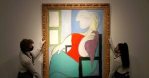 Picasso's Painting Femme Assise Sold For 85 Million