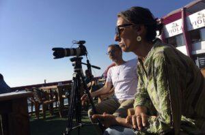 Tribute In Barcelona To The Journalist Ana Alba